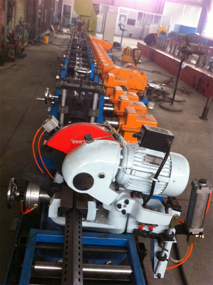 Electric Cabinet Frame Roll Forming Machine