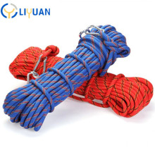 High tenacity dynamic climbing rope