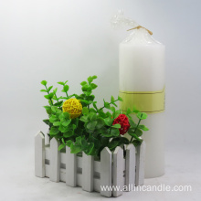 Cotton Wick 3x6 Inch Pillar Candles Wholesale