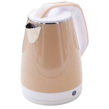 1.8L plastic coated electric water kettle