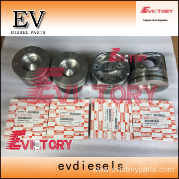 ISUZU engine parts piston 4HK1TC piston ring