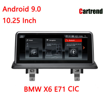 Car GPS Player 10.25 for X6 E71
