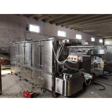 Large capacity popcorn production line for plant