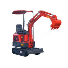 0.8T micro track digger mini excavator for Garden