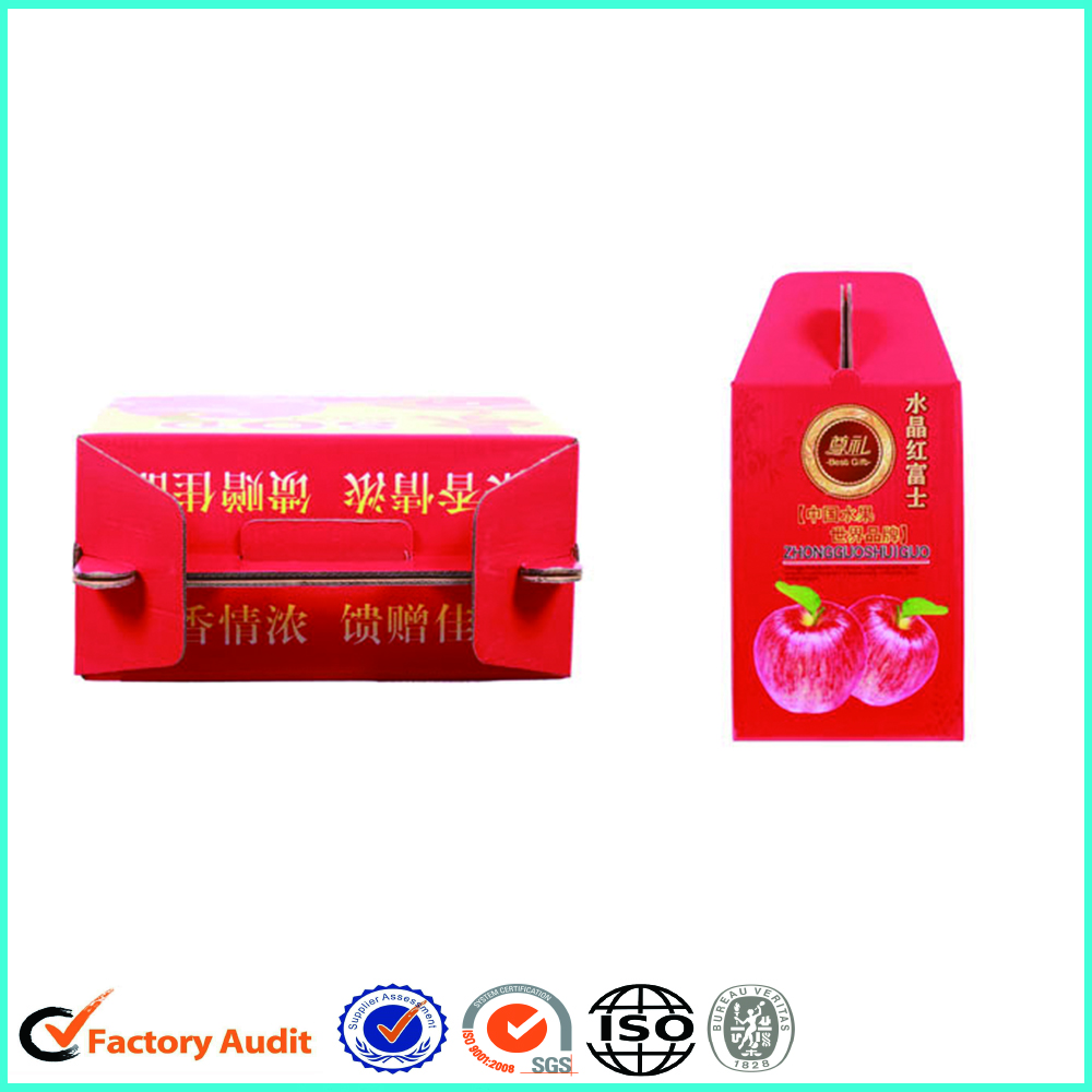 Wholesale Cardboard Apple Packaging Boxes
