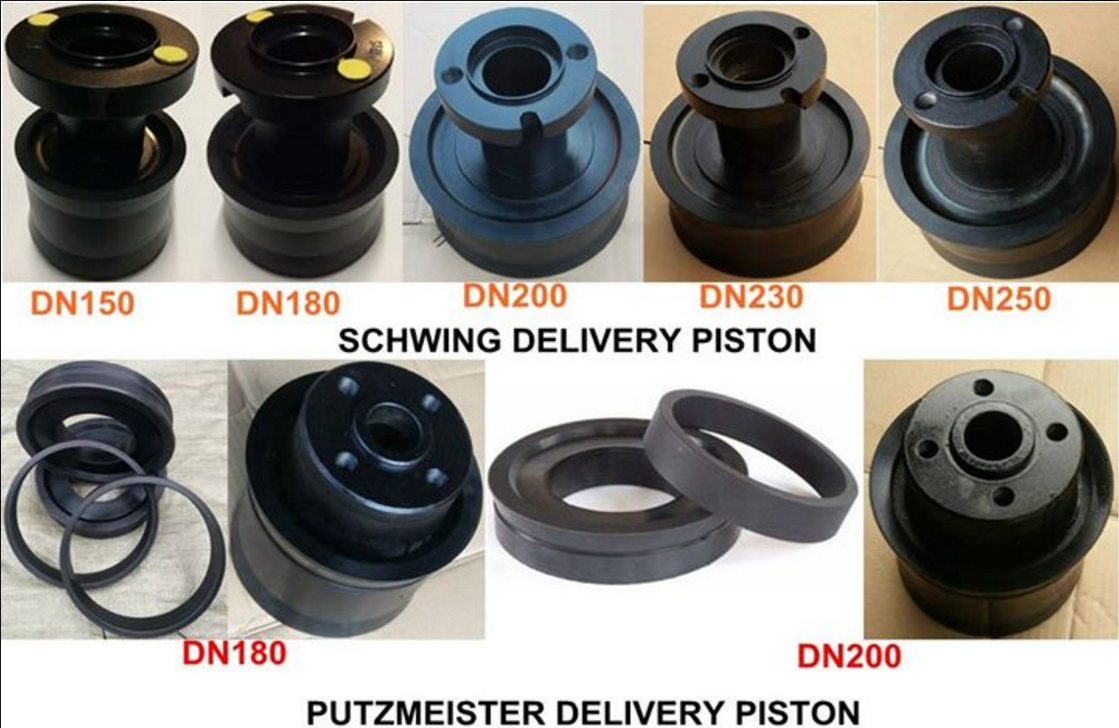 Schwing And Putzmeister Concrete Pump Rubber Piston