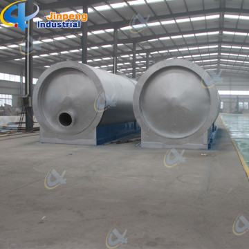 Low Production Cost Waste Plastic Oil Refining Machine