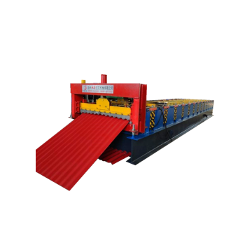Corrugated roof panel aluminium roll forming machine