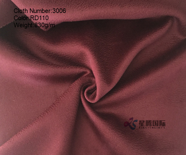 Double Face Water-wave 100% Wool Fabric