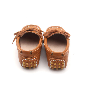 Leather Girl Casual Shoes loafer for kids