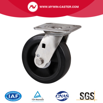 Stainless 5 Inch 220Kg Plate Swivel Plastic Caster