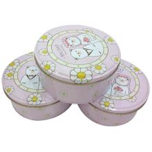 Top for Metal Chocolate Tin Can Little bear couple Chocolate Tin Box export to Germany Factories