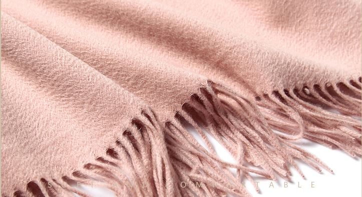 70% Wool 30% Cashmere Woven Throw -7