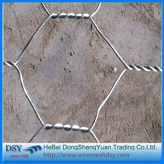 2.0MM PVC Coated Hexagonal Hole Gabion Box