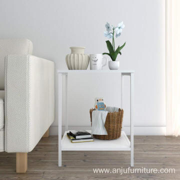 Side Table End Nightstand Bedroom Living Room, Modern Collection