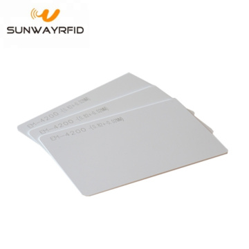 PVC Card RFID EM4200 chip Blank Cards