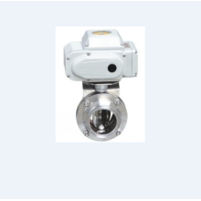 Hygienic Electric Thread Butterfly Valve