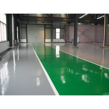 Epoxy resin thin coating floor paint