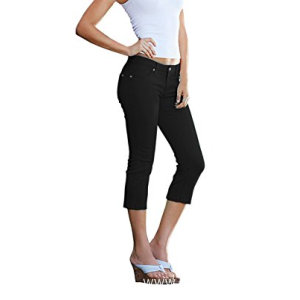Women's Perfectly Shaping Stretchy Denim Capri