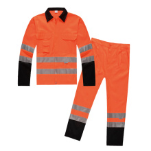 Poly-Cotton winter safety vest