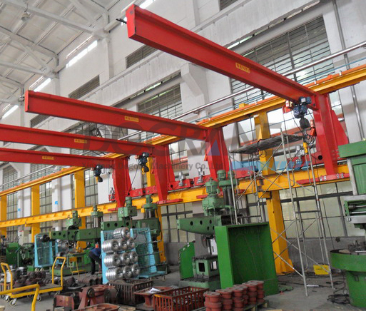 5Ton Floor Mounted Jib Crane