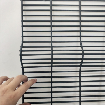 PVC coated and Galvanized anti climb fence panels