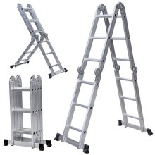 Portable using aluminum multipurpose ladder