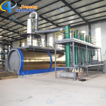 Distillation Plant with Crude Oil to Diesel