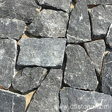 Black Slate Loose Natural Stone Cladding