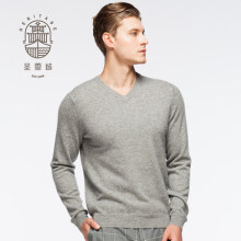 Men's Cashmere V Neck Sweater