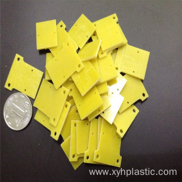 Yellow 3240 material epoxy CNC machine part