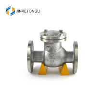 JKTLPC013 vertical flapper stainless steel flanged 1 inch check valve