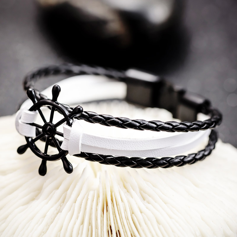 ladies leather bracelets