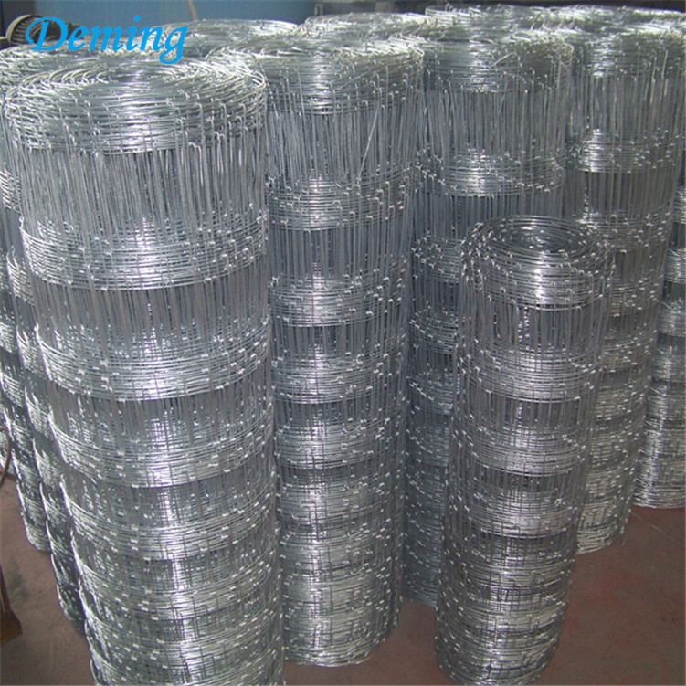 Cheap Durable Hot Dipped Galvanized Guard Field Fence