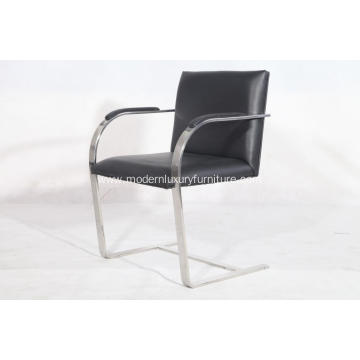 Mies Van Der Rohe leather Brno Chair