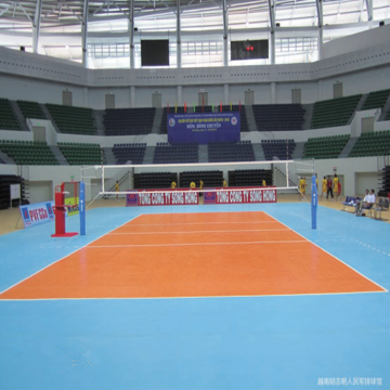 Sport Flooring Volleyball court floor