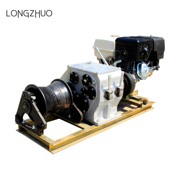 Portable Electrical Engine Powered Winch