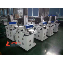 Fiber Laser Marking Machine on Bearing