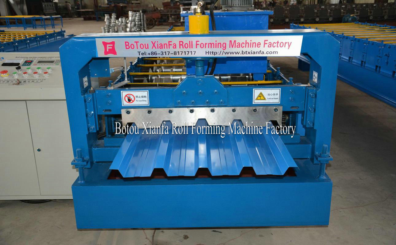 rolling machines for metal panel