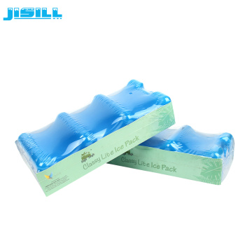 HDPE Plastic Ice Brick Cooler For Cans Cooling
