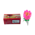 India Lotus Flower Candle