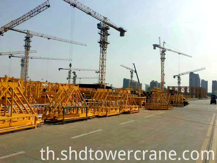 High Efficiency Topless Tower Crane