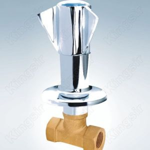 China Top 10 for Shower Stop Valve, Water Stop Valves, Brass Stop Valve Wholesale From China Brass Valve With Zinc Flange And Knob export to Poland Exporter