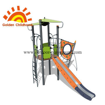 Children Outdoor Adventure Games Playground Equipment