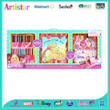 BARBIE Easel OVER 1000 pieces deluxe set