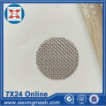 Filter Disc Security Screen Wire Cloth Stainless Steel Wire Mesh