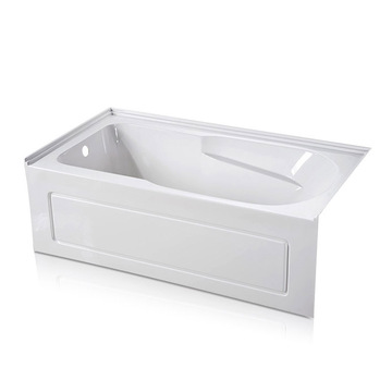 60 x 32 Three Wall Alcove Deep Soaking Tub