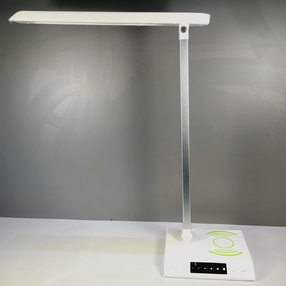 wireless charging led desk table lamp for iphone 8