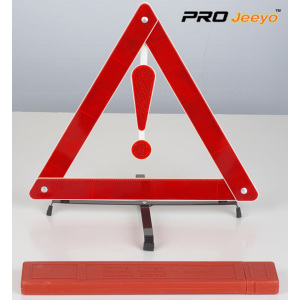 Reflective Stop Sign Car Tripod With Fault Warning