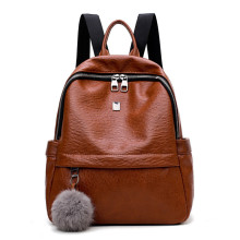 Hot selling fashion double shoulder traveling lady bags